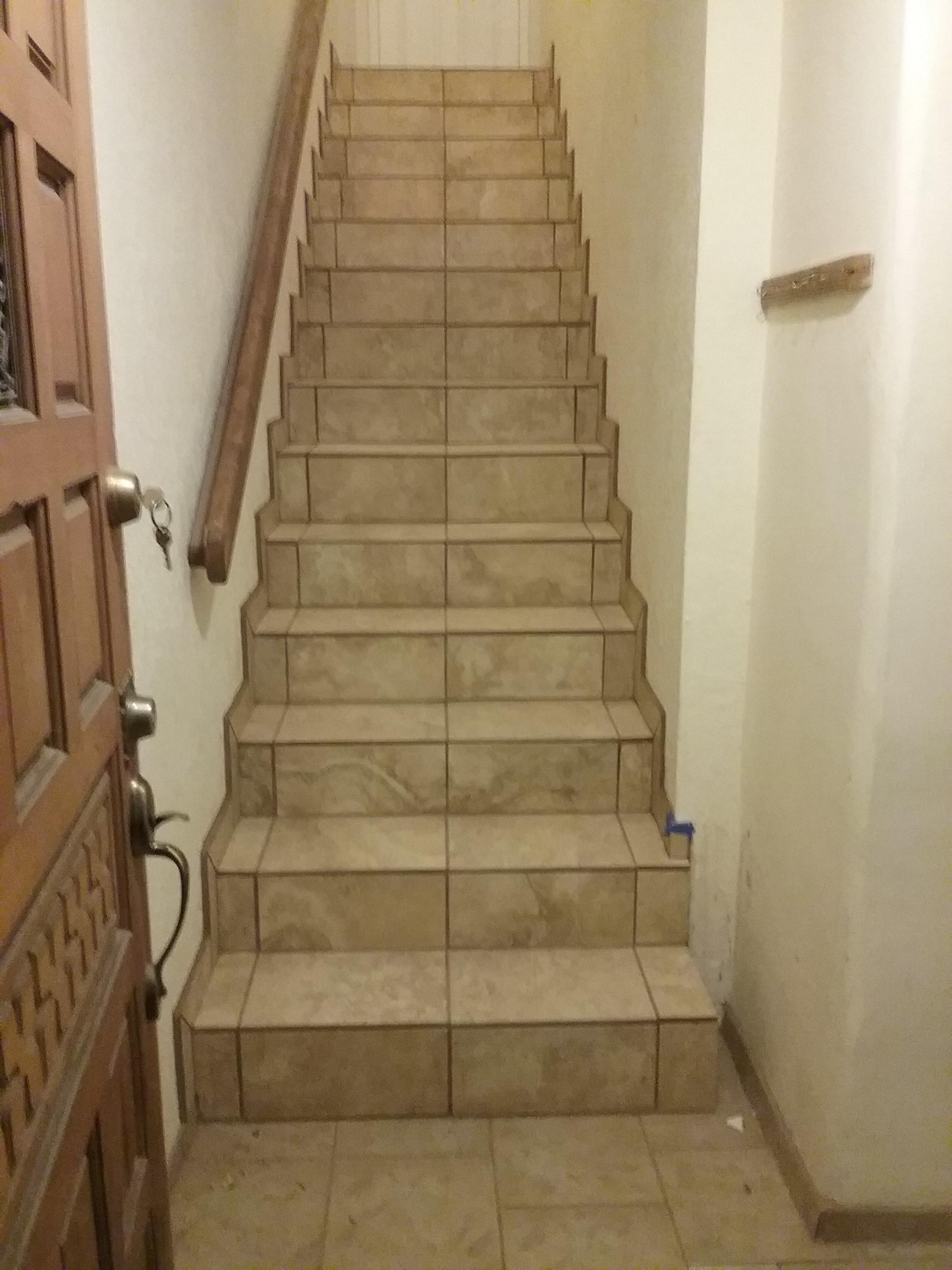 Residential Tile Staircase U2013 Santa Fe, NM